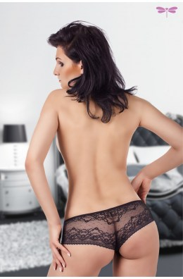 Damen Panty aus Spitze - Schwarz