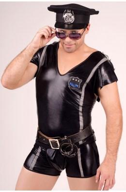 Polizeikostüm Unterwäsche Set für Männer von Andalea Dessous