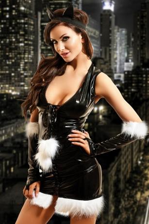 Wetlook Katzen-Kostüm