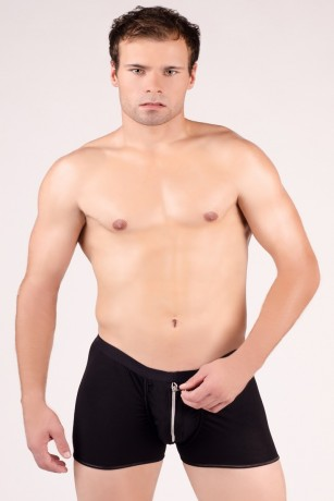 Schwarze Boxershorts von Andalea Dessous