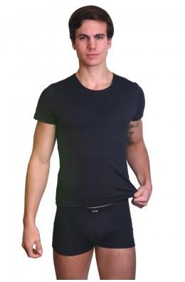Schwarzes Herren T-Shirt Rocket
