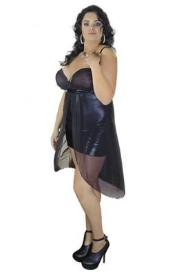 Nachtkleid in Schwarz