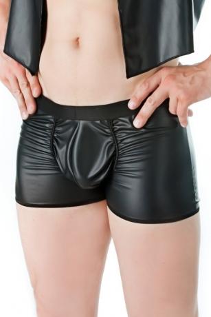 Schwarze Boxershorts aus der Andalea Sexy Work Kollektion
