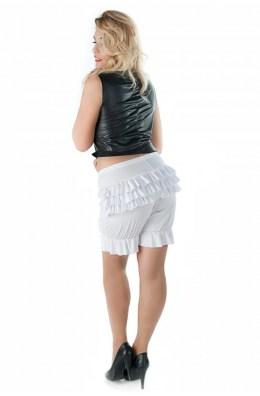 Weiße Pluderhose Andalea Sexy Work Kollektion