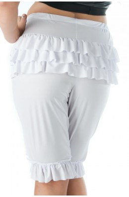 Weißer Pantaloon Andalea Sexy Work Kollektion