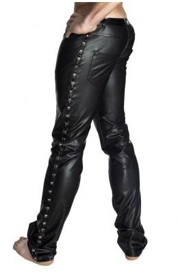 Schwarze lange Hose von Noir Handmade