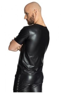 Schwarzes T-Shirt von Noir Handmade