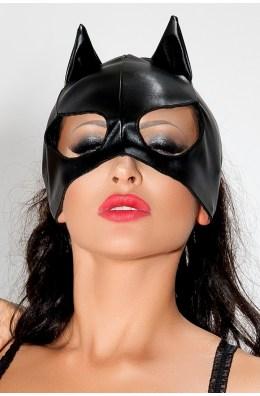 Catwoman | Aufregende Katzen-Maske in Schwarz