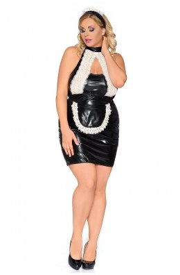 Schwarz/weißes Kellnerin Outfit