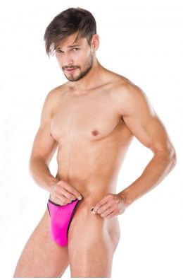 Pinker String für Männer
