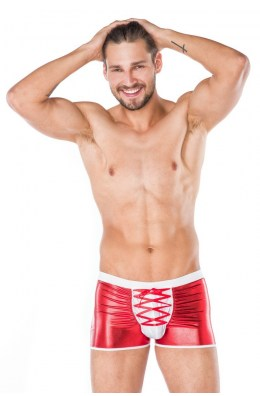 Rot/weiße Boxershort für Männer