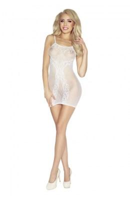 Weißes Netz-Kleid von Provocative