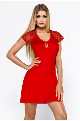 Rotes Nachtkleid Hillary
