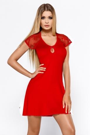 Rotes Nachtkleid Hillary