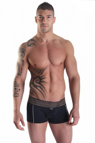 Schwarze Boxer Short Idol von Look Me