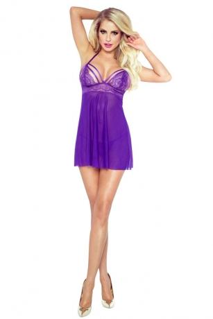 Purple Seduction Babydoll