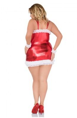 Rotes Chemise - Christmas-Dessous