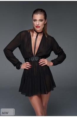 Traumhaft schwarzes und leichtes Minikleid