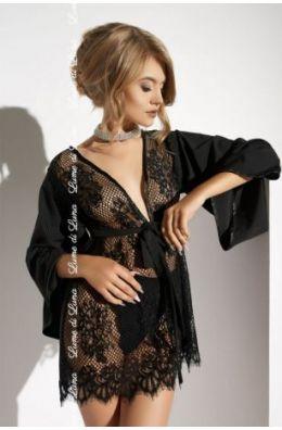 Schwarzer Kimono Barletta