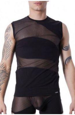 Schwarzes T-Shirt Shade von Look Me