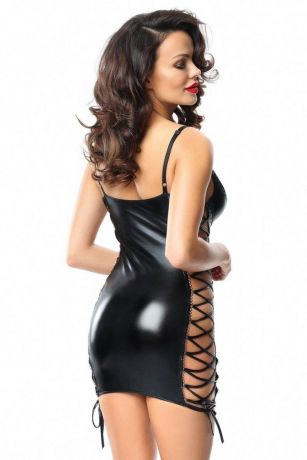 Schwarzes Minikleid Aline