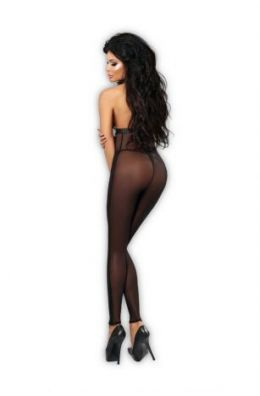 Schwarzer Flash Bodystocking