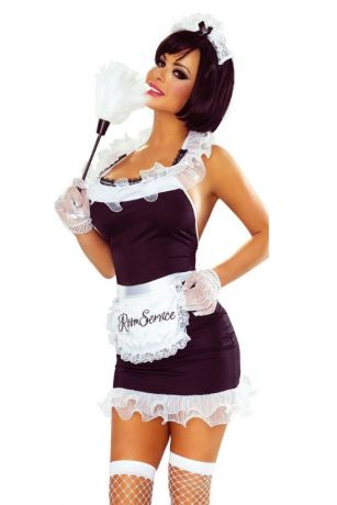 7-teiliges Maid Dress von Provocative