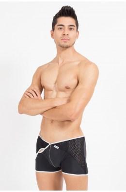 Schwarz/weißer Herren Boxer| Boxershorts | Unterhosen Männer