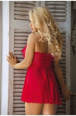 Rotes Babydoll von Excellent Beauty