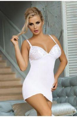 Weißes Negligee V-508 von Excellent Beauty