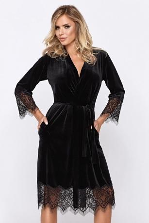 Schwarzes Mia Desssing Gown