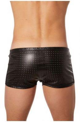 Schwarze Herren Boxer Short