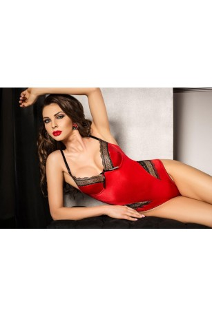 Roter Damenbody von Passion Dessous
