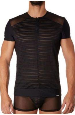 Schwarzes Männer T-Shirt