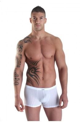 Weiße Boxershorts Sinners von Look Me