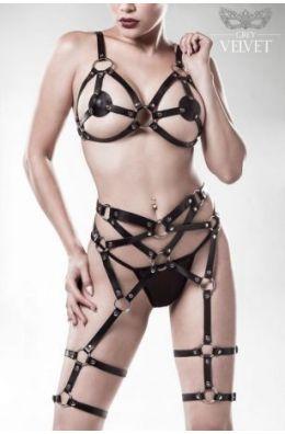 3-teiliges Erotikset | Harness-Set