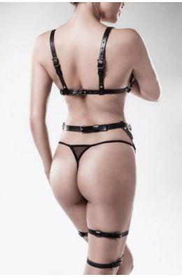 3-teiliges Harness-Erotikset