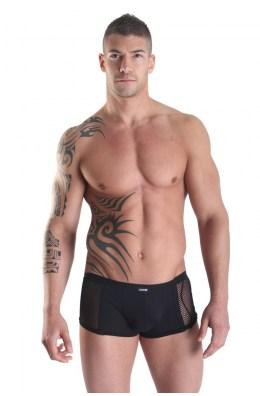 Schwarze Herren Mini-Pants Visible Man von Look Me