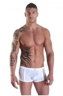 Weiße Herren Mini-Pants Visible Man von Look Me