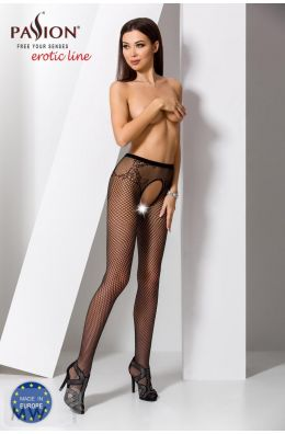 Ouvert Strumpfhose schwarz von Passion Erotic Line
