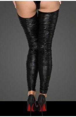 Beinstulpen im zerknitterten Look von Noir Handmade Rebellious Collection