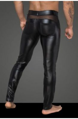Powerwetlook-Longpants von Noir Handmade Rebellious Collection