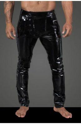 Lange Hose aus elastischem PVC H060 von Noir Handmade Rebellious Collection