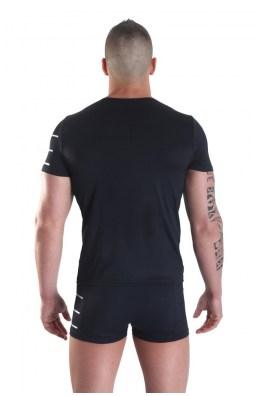 Schwarzes Herren T-Shirt Roadster von Look Me