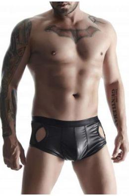 Shorts in schwarz von Regnes Fetish