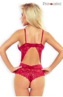 Roter Body Dentelle Seduction