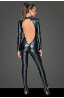 Overall mit tiefem Rückenausschnitt von Noir Handmade MissBehaved Collection